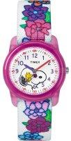 zegarek  Timex x Peanuts Snoopy & Flowers Timex TW2R41700
