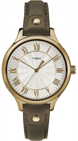 Zegarek damski Timex peyton TW2R43000 - duże 1