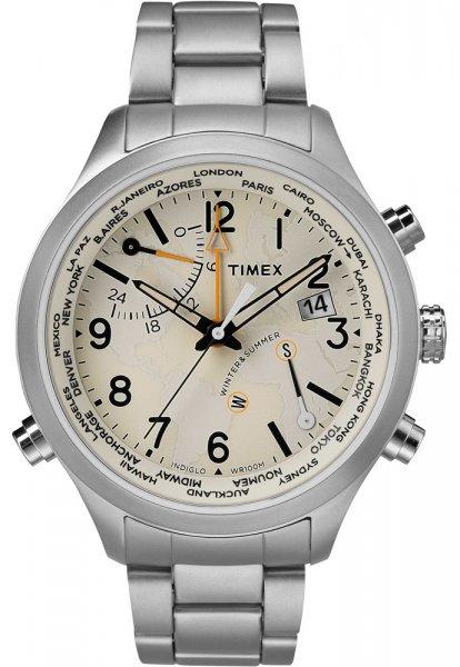 Timex TW2R43400 Intelligent Quartz World Time IQ