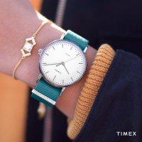 Zegarek damski Timex fairfield TW2R49000 - duże 2