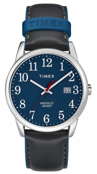 Zegarek męski Timex easy reader TW2R62400 - duże 3