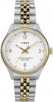 Zegarek damski Timex waterbury TW2R69500 - duże 1