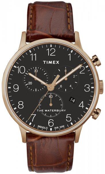 Zegarek męski Timex waterbury TW2R71600 - duże 3
