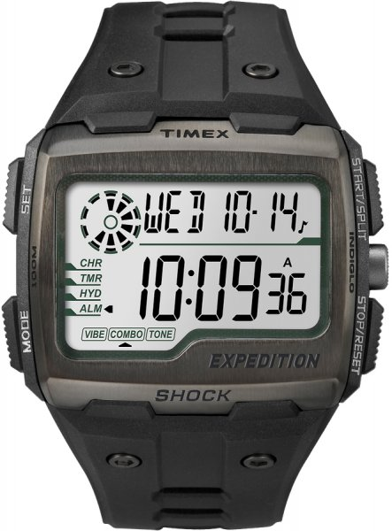 Timex TW4B02500 Expedition Command Expedition Grid Shock