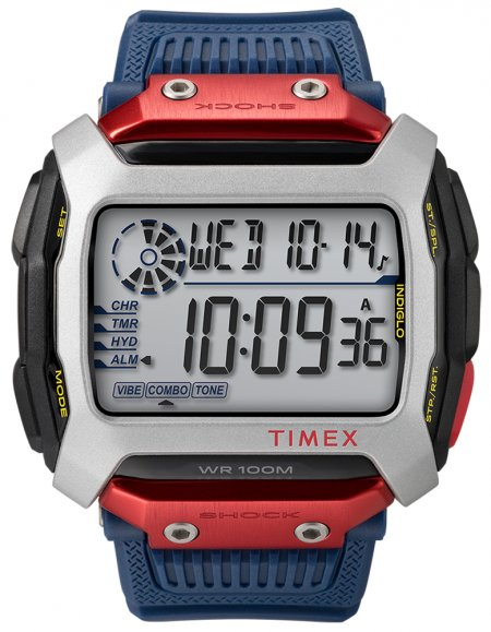 Timex TW5M20800 Command Timex Lab Collab COMMAND RED BULL CLIFF DIVING