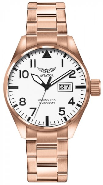 Zegarek męski Aviator airacobra V.1.22.2.152.5 - duże 1