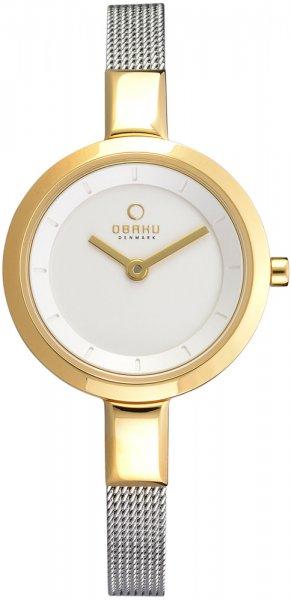 Zegarek damski Obaku Denmark bransoleta V129LGIMC1 - duże 1
