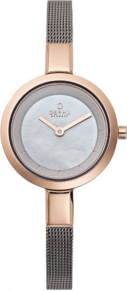 Zegarek damski Obaku Denmark bransoleta V129LVJMJ - duże 1