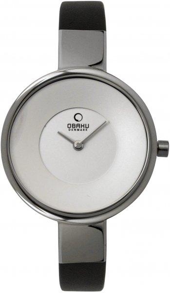 Zegarek Obaku Denmark V149LCIRB - duże 1
