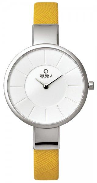 Zegarek Obaku Denmark V149LCIRY - duże 1
