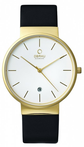Zegarek Obaku Denmark  V153GGWRB - duże 1