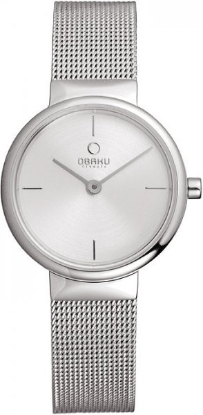 Zegarek damski Obaku Denmark bransoleta V153LCIMC - duże 1