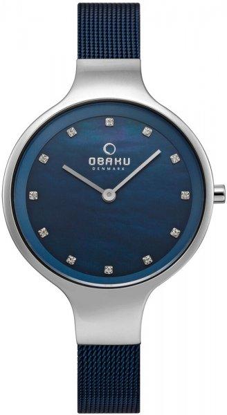 Zegarek Obaku Denmark V173LXCLML - duże 1