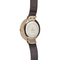 Obaku Denmark V177LEVNMN Slim VARM - WALNUT zegarek damski fashion/modowy mineralne