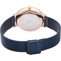 Obaku Denmark V186LXVLML zegarek damski fashion/modowy Slim bransoleta