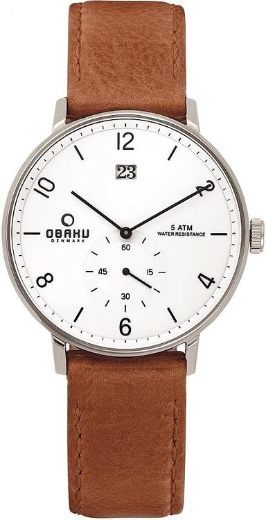 Zegarek Obaku Denmark  V190GDCWRZ - duże 1
