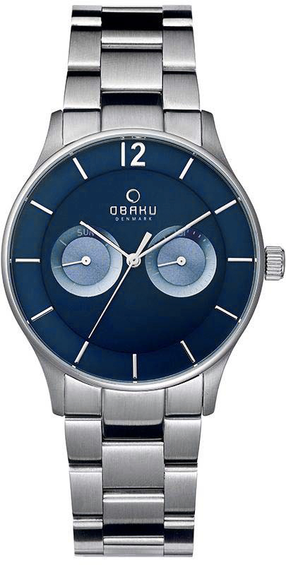 Zegarek Obaku Denmark  V192GMCLSC - duże 1