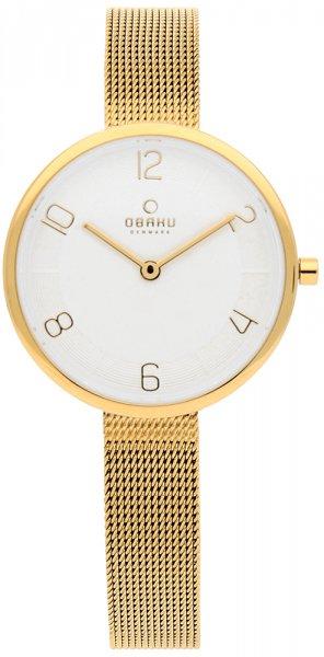 Zegarek damski Obaku Denmark bransoleta V195LXGIMG - duże 3