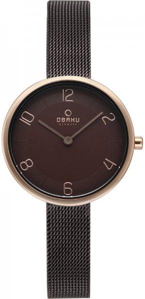 Zegarek damski Obaku Denmark bransoleta V195LXVNMN - duże 3