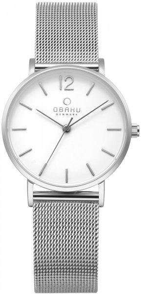 Zegarek damski Obaku Denmark bransoleta V197LXCWMC1 - duże 1
