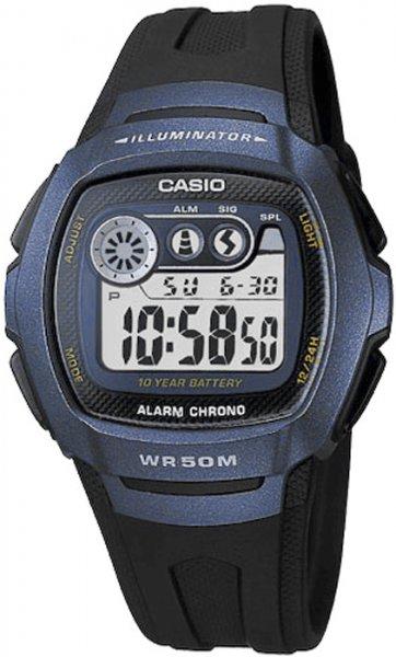 Zegarek męski Casio sportowe W-210-1B - duże 1
