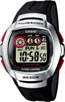 Zegarek męski Casio sportowe W-210-1D - duże 1