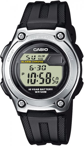 Zegarek męski Casio sportowe W-211-1AVEF - duże 1