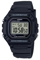 Zegarek męski Casio sportowe W-218H-1AVEF - duże 1