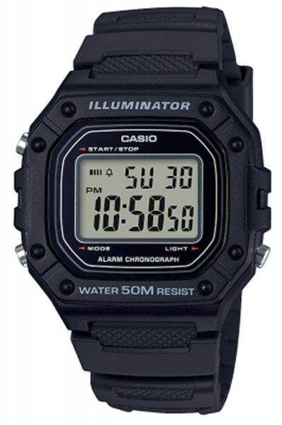 Zegarek Casio W-218H-1AVEF - duże 1