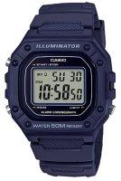Zegarek męski Casio sportowe W-218H-2AVEF - duże 1