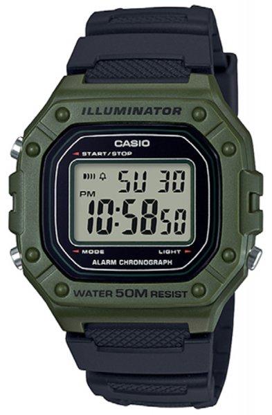 Zegarek Casio W-218H-3AVEF - duże 1