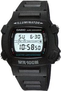 Zegarek Casio W-740-1V - duże 1