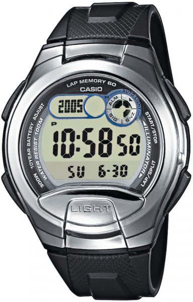 Zegarek Casio W-752-1AV - duże 1