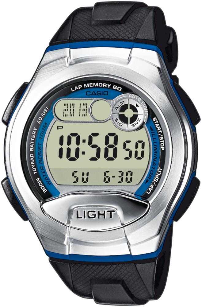 Zegarek męski Casio sportowe W-752-2BVEF - duże 1