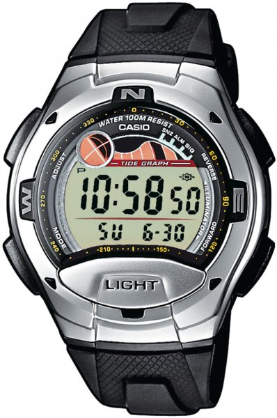Zegarek Casio W-753-1AV - duże 1
