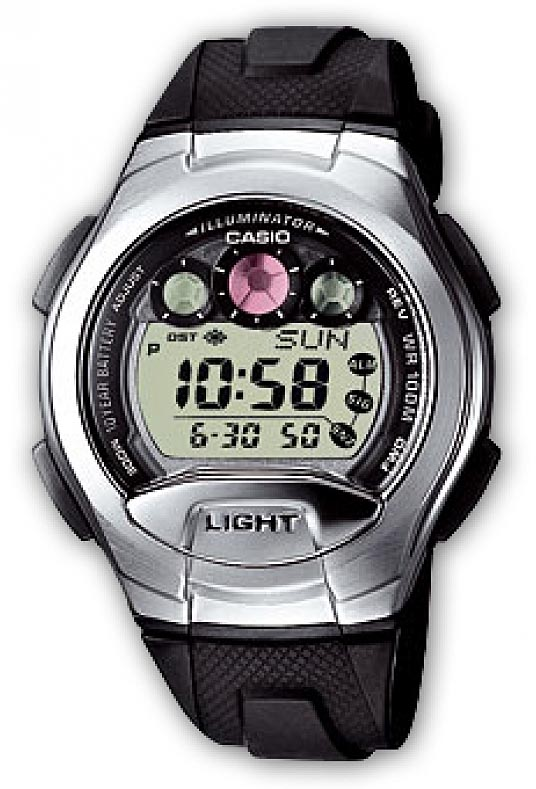 Zegarek Casio W-755-1AVEF - duże 1