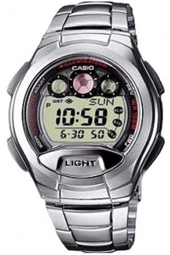 Zegarek męski Casio klasyczne W-755D-1AVEF - duże 1