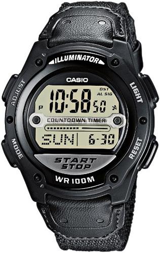 Zegarek męski Casio klasyczne W-756B-1AVEF - duże 1
