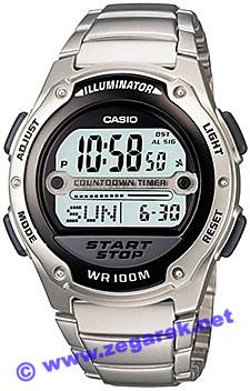 Zegarek Casio W-756D-1A - duże 1