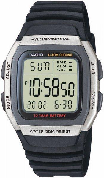Zegarek męski Casio sportowe W-96H-1AVEF - duże 1