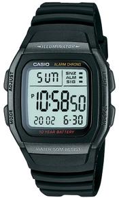 Zegarek Casio W-96H-1B - duże 1