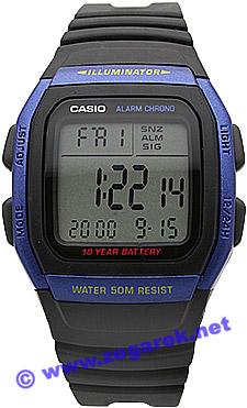 Zegarek Casio W-96H-2A - duże 1