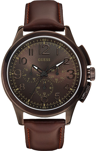 Zegarek Guess W0067G4 - duże 1