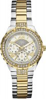 Zegarek damski Guess bransoleta W0111L5 - duże 1