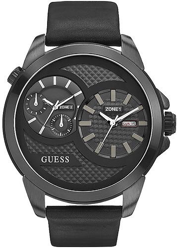 Zegarek męski Guess pasek W0184G1 - duże 1