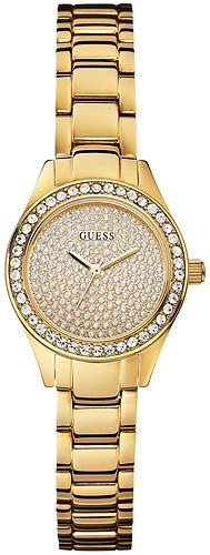 Zegarek damski Guess bransoleta W0230L2 - duże 1
