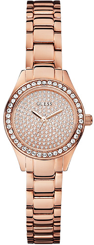 Zegarek damski Guess bransoleta W0230L3 - duże 1