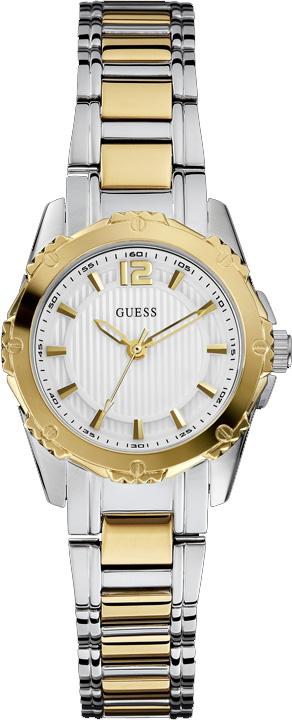 Zegarek damski Guess bransoleta W0234L3 - duże 1