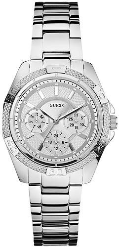 Zegarek damski Guess bransoleta W0235L1 - duże 1