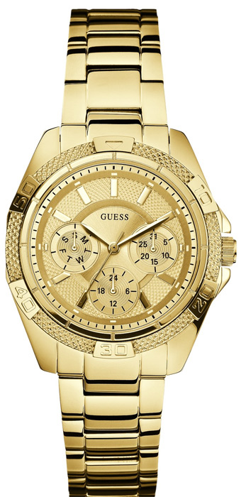 Zegarek damski Guess bransoleta W0235L5 - duże 1